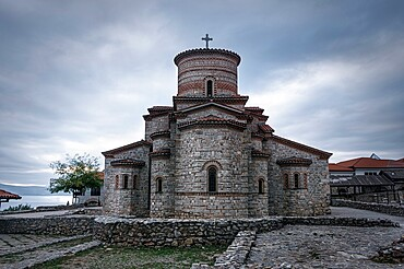 Byzantine Church of Saints Clement and Panteleimon, UNESCO World Heritage Site, Ohrid, North Macedonia, Europe