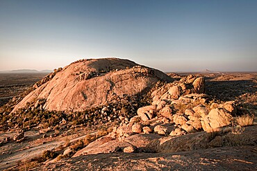 Sunset in the Erongo Mountains, Namibia, Africa