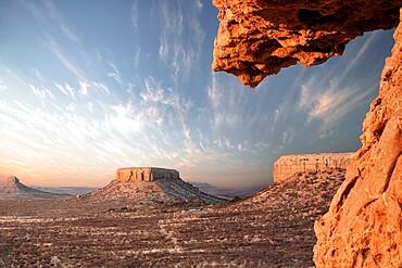 Damaraland rock formations at sunrise, Namibia, Africa
