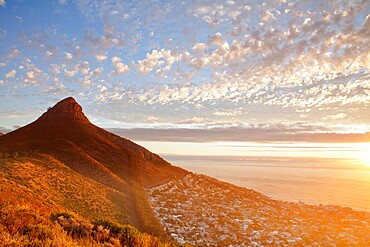 Signal Hill and Sea Point, Cape Town, South Africa, Africa