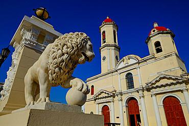 The Catedral de la Purisima Concepcion, Cienfuegos, UNESCO World Heritage Site, Cuba, West Indies, Central America