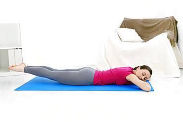 Pilates, woman