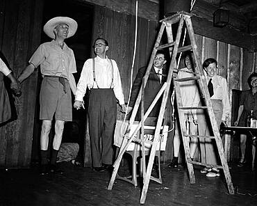 British Mission Party, 1945