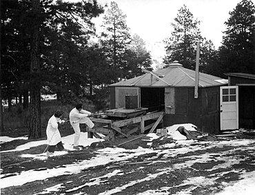 RaLa Bayo Canyon Test Site, Los Alamos