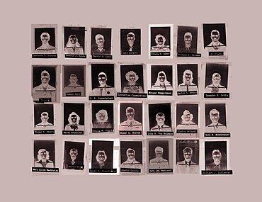 Manhattan Project Badge Montage