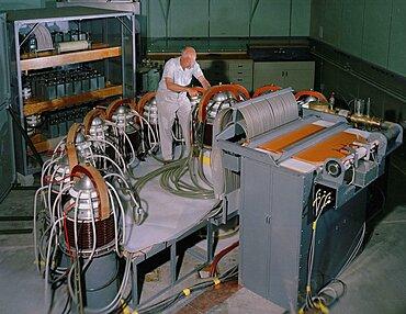 Scylla I, Theta-Pinch Machine, 1958