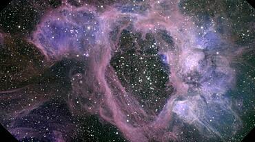 NGC 1929 Superbubble, N44 Nebula