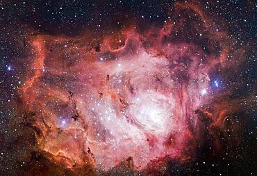 Lagoon Nebula, M8, NGC 6523
