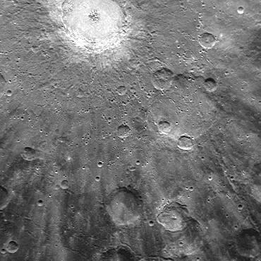 Mercury, Debussy Crater