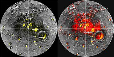 NASA Finds Evidence for Water Ice at Mercury's Poles