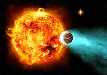 CoRoT-2a, Star Blasts Planet with X-Rays