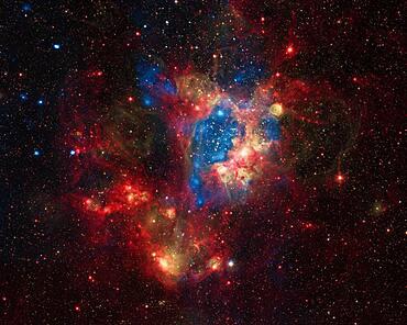 NGC 1929, LMC N44 Superbubble, Composite