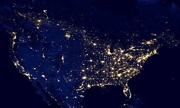 United States at Night, 2012