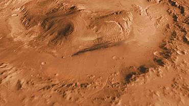 Rover Landing Site, Mars