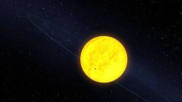 Orbit of Kepler-10b