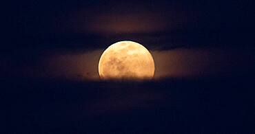 Supermoon, March 9, 2020