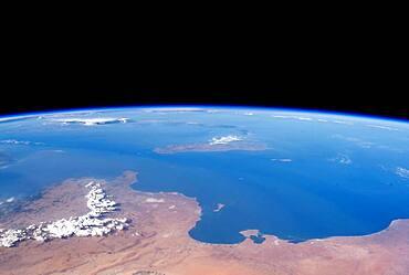 Northern Africa, Satellite View