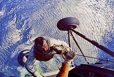 Recovery of Astronaut Alan Shepard, 1961