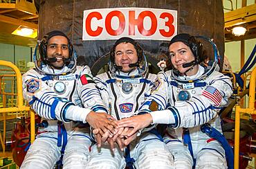 Expedition 61 Space Station Crew