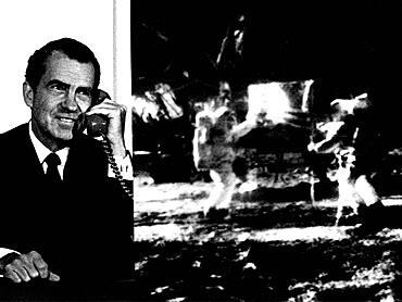 Apollo 11, President Nixon Talks with Neil Armstrong, 1969
