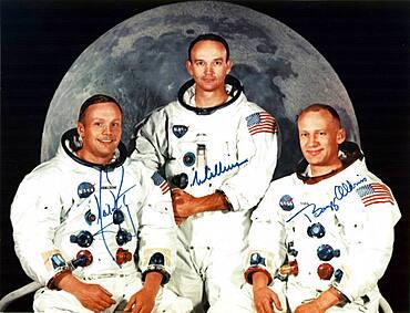 Apollo 11 Prime Crew, 1969