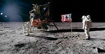 Apollo11, Buzz Aldrin Composite, 1969