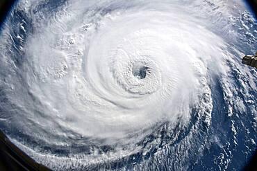 Hurricane Florence, ISS image