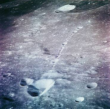 The Lunar surface from Apollo 14