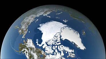 Arctic Sea Ice Minimum, 2020