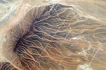 Water Imprints in Desert, Oman