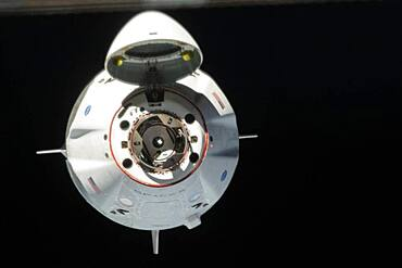 SpaceX Crew Dragon Approaches ISS