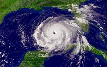 Hurricane Rita, GOES Image, 2005