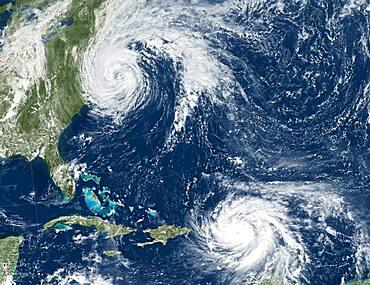 Hurricane Jose and Hurricane Maria, 2017