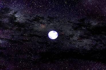 White Dwarf Gravitational Wave Merger, 5 of 5