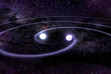 White Dwarf Gravitational Wave Merger, 1 of 5