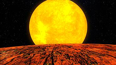 Exoplanet Kepler-10b
