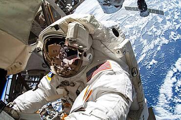 Astronaut Terry Virts Spacewalk