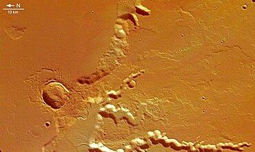 Medusa Fossae, Mars