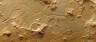 Libya Montes, Mars Express image