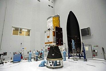 ADM-Aeolus satellite preparations