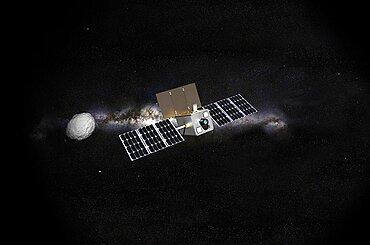 M-Argo asteroid observer spacecraft, artwork