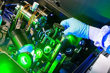Laser testing