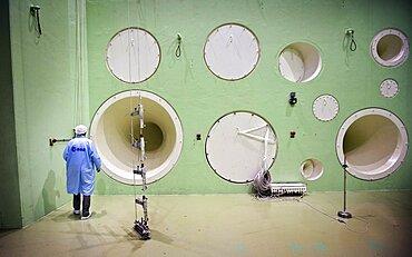 Large European Acoustic Facility acoustics test center