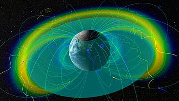 Earth's Radiation Belts and Plasmapause