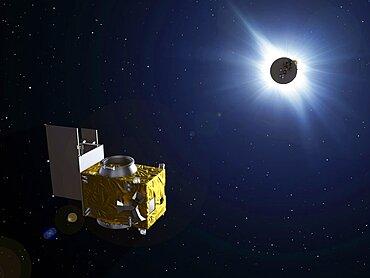 PROBA-3 satellites, artwork