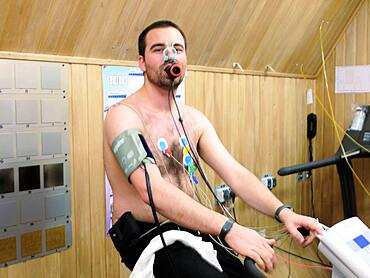 Mars-500 project physiological testing