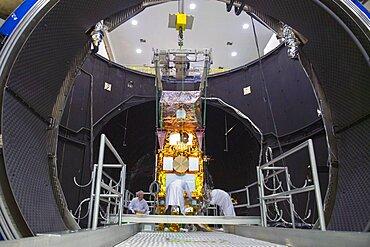 Sentinel-2B satellite in Large Space Simulator