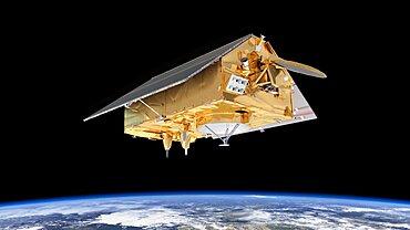 Sentinel-6 Jason-CS satellite, artwork