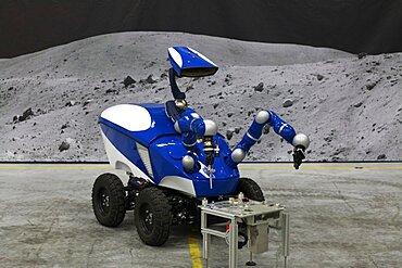 Interact Centaur Rover robot