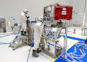 BepiColombo spacecraft fuelling
